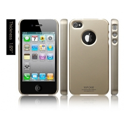 SGP iPhone 4 Case Ultra Thin Matte Series [Champagne Gold] (SGP07007)